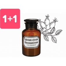Calcium citrate + Glucosaminum + Rosa canina