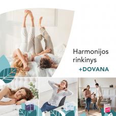 Harmonijos rinkinys: bioMagnis B6 PREMIUM + LABANAKT! + dovana ImunoGO